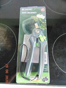 parkside anvil secateurs item is new, carbon steel, hand strap