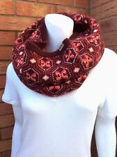 "JACK WILLS DAMSON FAIR ISLE ""AMERSHAM"" SNOOD INFINITY SCARF BNWT"