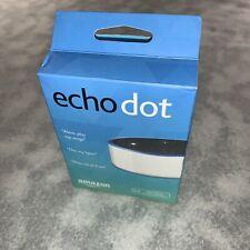 Amazon Echo Dot 2nd Gen Smart Assistant Speaker Alexa White Works Perfectly
