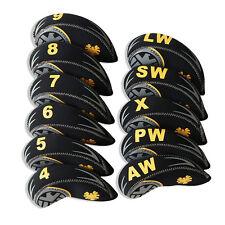 11PCS/Set Neoprene Golf Iron Covers Head cover For mizuno Titleist Cobra Ping