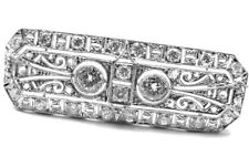 Platinum Fine Brooches and Pins