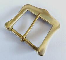 """Uno solo-Re Promulgazione SOLIDO CAST OTTONE Singolo Fibbia della Cintura 1-3/4"""" o 45 mm BS 36"""