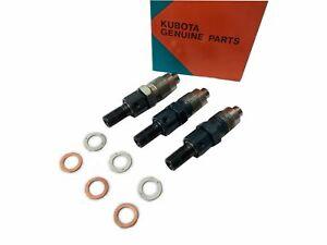 NEW GENUINE Kubota Fuel Injector 3 pieces V3600 V3800 V3300-T V3600-T