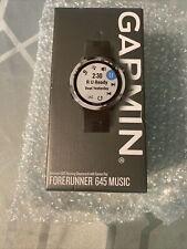 Garmin Forerunner 645 Music Sport Watch - Black *Factory Sealed Box*
