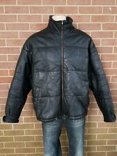 Vintage Leather Limited Leather Motorcycle Jacket Men's Black Size XL