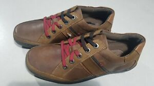 Lotus Mens Brown Leather Shoes, Lace Up Trainers, Size EU 40.5, UK 7