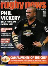 RUGBY NEWS (UK) MAGAZINE December 2006