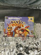 Banjo Tooie (Nintendo 64, 2001) complete with box and instruction manual UK PAL