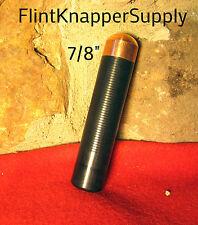 "7/8"" Solid Head Copper Bopper - Copper Billets, Flint knapping tools, arrowheads"