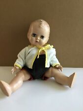 Vintage Unmarked All Hard Plastic Baby Doll