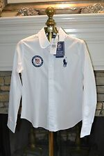 2012 USA Olympic Team Ralph Lauren Polo Ladies Shirt Logo New SZ 8P