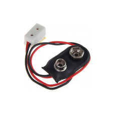 9V Battery Connector with Wire for Dollhouse Miniature LED Light Lamp 1/12
