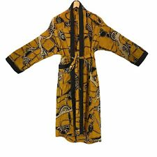 Vintage Cotton Batik Robe Wrap Style Suryak Encana