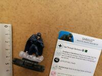 Nr 046 SHROUD   /MINIATURE+ CARD / MARVEL HEROCLIX