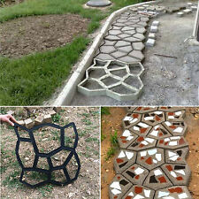 DIY Pavement Mold Driveway Paving Brick Patio Path Garden Stone Walk Maker Mould