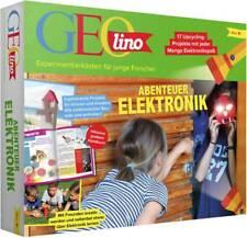 Geolino 67073 Abenteuer Elektronik Experimente, Experimentierkasten ab 8 Jahre