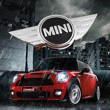 For MINI COOPER Chrome Front Hood Rear wing JCW Badge Emblem Logo Sticker R50 52