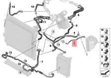 Genuine BMW E70N E71 Cooling System Coolant Hose Vent Pipe OEM 17127576361