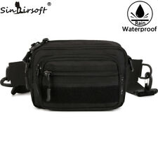 Outdoor Waist Bag Tactical Military Travel Hiking Climbing Molle Belt Fanny Pack