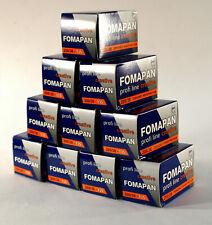 10x Fomapan 200 B&W Film - 35mm  36exp