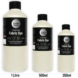 IVORY Liquid Fabric Dye for Sofa, Clothes, Shoes & more. Repairs & Re-Colours