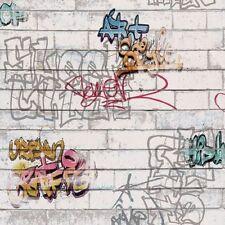 Papel pintado y accesorios A.S. Création color principal blanco