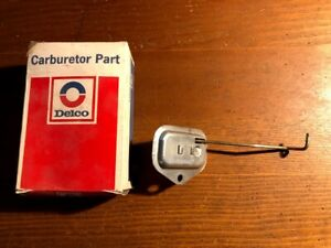 NOS GM 1970 Buick V8 350 Rochester 2bbl Carburetor Choke Stat Coil Thermostat