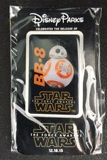 Disney DLR Star Wars The Force Awakens Opening Day BB-8 Droid Exclusive Pin! N3W