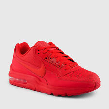 NIKE AIR MAX LTD 687977-666 MEN'S SHOES  LIMITED CRIMSON RED Size 9