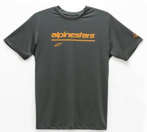 Alpinestars Tech Line Up Performance T-Shirt - Charcoal
