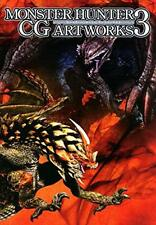 NEW!! Capcom MONSTER HUNTER CG Artworks Art Works 3 Design Soft Cover Book JAPAN