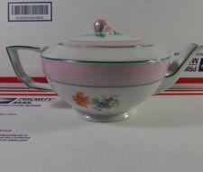 Porcelain F&B Co. Baronet Czechoslovakia Teapot  Porcelain Teapot Floral design