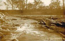 WEST JEFFERSON OHIO RUINS OF DAM LITTLE DARBY CIRCA 1915