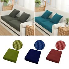 Stretch Spandex Sofa Seat Cushion Cover Slipcover Couch Replacement Protector