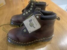 Limited Edition Dr Martens 939 brown leather boots - Glastonbury Festival 1997