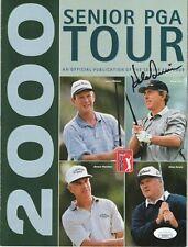 Hale Irwin Signed Autographed Senior Tour Golf magazine JSA COA
