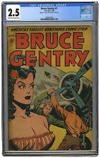 Bruce Gentry #1 CGC 2.5 - 1948 - Ray Bailey Strips Begin - Very Rare!