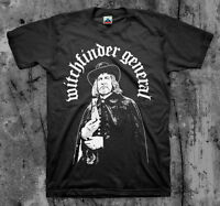 WITCHFINDER GENERAL 'Vincent' T Shirt (NWOBHM Angel Witch Satan Tank)
