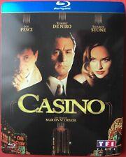 "BLU-RAY STEELBOOK (boîtier métal) ""CASINO"" Martin Scorsese."