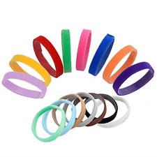 Whaline 15 Colors Puppy Id Collars Whelping Dog Band Newborn Soft Fabric Collar