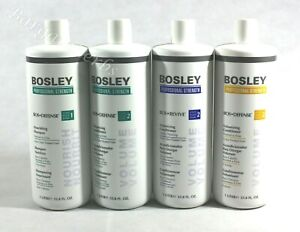 2x BOSLEY Shampoo/Conditioner 33.8oz/1L For Thinning Hair Free Shipping Variety