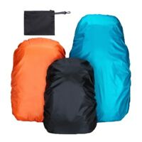 Waterproof Backpack Cover Outdoor Camping Rucksack Dust Rain Proof + Storage Bag
