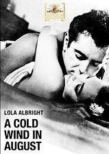 A Cold Wind In August DVD - Lola Albright, Scott Marlowe, Clarke Gordon
