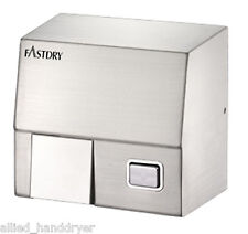 FastDry HK1800SS (110V/120V) PushButton Hand Dryer/Stainless Steel/Surface Mount
