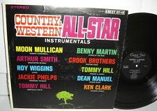 COUNTRY & WESTERN All-Star Instrumentals VA Moon Mullican Arthur Smith Ken Clark