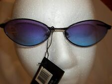 NEW SOLNEX LADIES DESIGNER SUNGLASSES BLACK METAL FRAME MAXIMUM UV PROTECTION