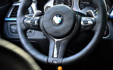 UKCARBON Carbon Fibre M Steering Wheel Trim Insert For BMW 1 Series F20 F21