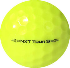 50 Near Mint Titleist Nxt Tour S Yellow Mix Years Used Golf Balls