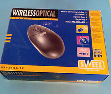 Ratón Optico Wifi - caja Nuevo - Optic Wireless Mouse - Sweex in box New