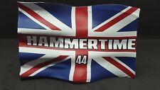 FRG 1/18 Formula One Lewis Hamilton Hammertime Supporters Wavy Flag Banner Model
